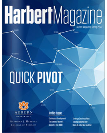 Spring 2014 Harbert Magazine Cover