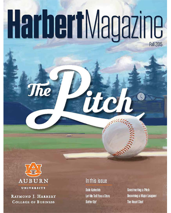 Fall 2015 Harbert Magazine Cover