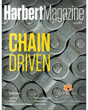 Spring 2015 Harbert Magazine Cover