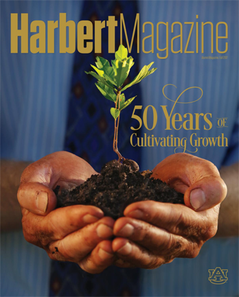 Fall 2017 Harbert Magazine Cover