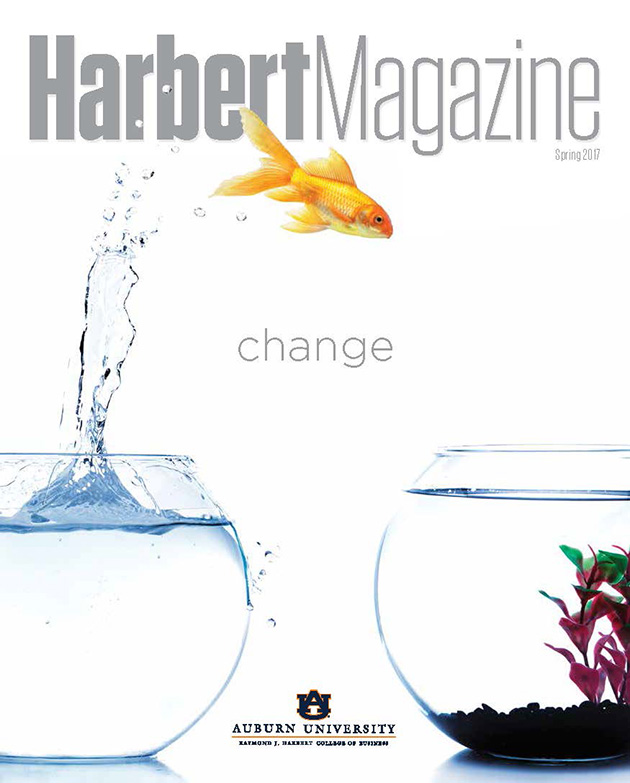 Spring 2017 Harbert Magazine Cover