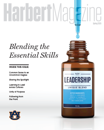 Spring 2020 Harbert Magazine Cover