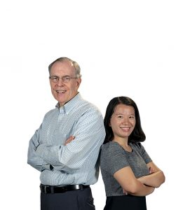 Yanfei Sun and Jim Barth