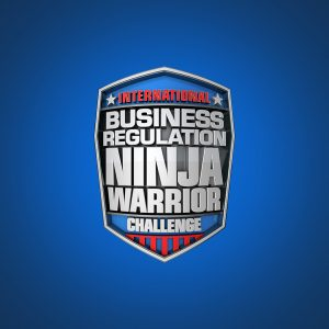 """Business Regulation Ninja Warrior"" Shield"